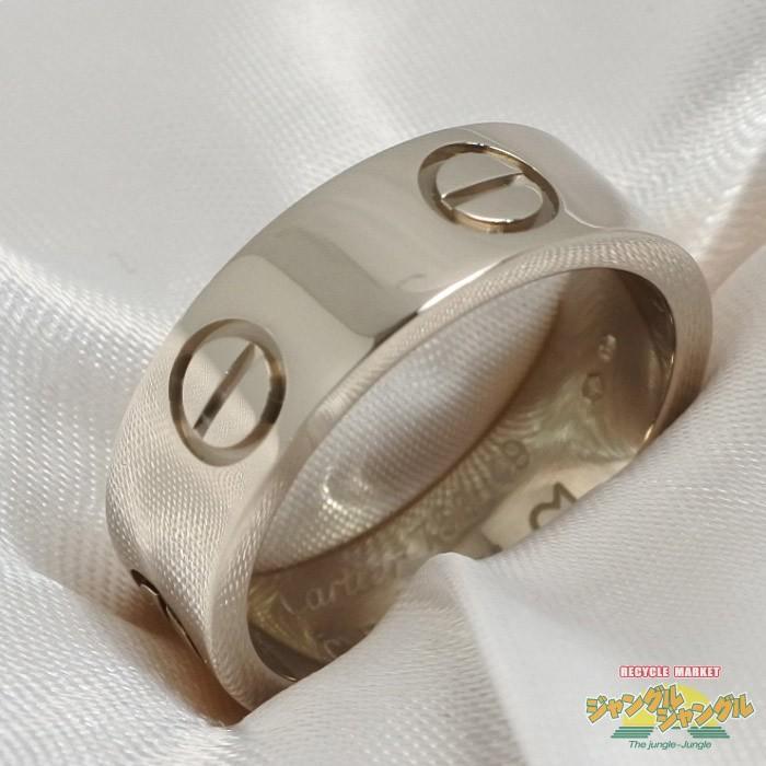 沸騰ブラドン カルティエ Cartier ラブリング ホワイトゴールド K18WG K18WG 表記サイズ:49【 ラブリング】[iw], REDWOOD:2e352a79 --- airmodconsu.dominiotemporario.com