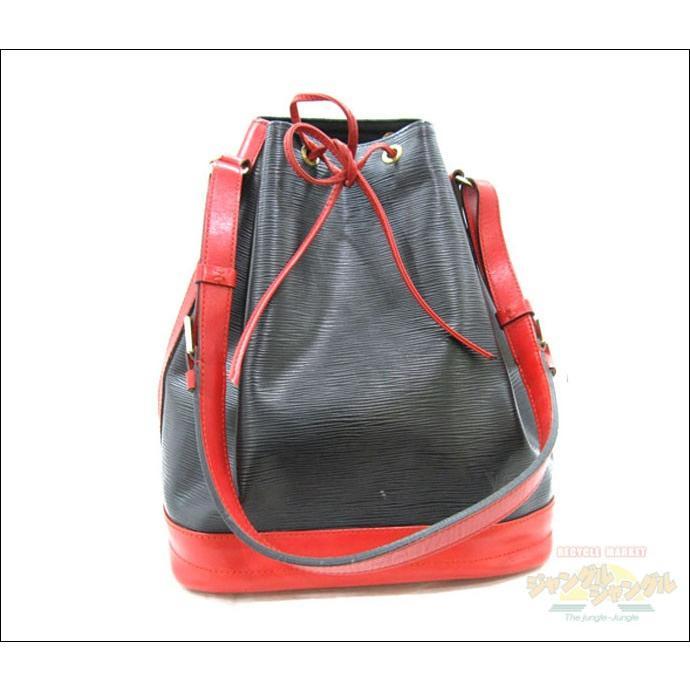 大人気の ルイヴィトン ノエ エピ バイカラー(黒×赤), ブルークレール 1e8a165a