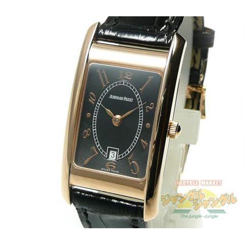 2019年新作 限定モデル! オーデマ・ピゲ K18PG レディース腕時計 125周年記念モデル クォーツ ブラック文字盤, おいしい生活 f0352c0f