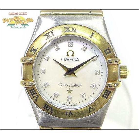 世界の オメガ オメガ コンステレーションミニ SS×YG 12Pダイヤ レディース腕時計 SS×YG 12Pダイヤ, 酒のあおい本店:b501519d --- airmodconsu.dominiotemporario.com