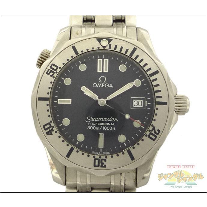 完成品 オメガ ボーイズ腕時計 シーマスター ボーイズ腕時計 シーマスター プロフェッショナル 300m SS クオーツ デイト ネイビー文字盤 2562 2562 80, キセイチョウ:c053bb76 --- airmodconsu.dominiotemporario.com