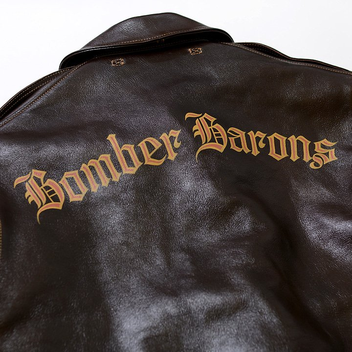 """No.BR80588 BUZZ RICKSON'S バズリクソンズ type A-2 CONTRACT No.W535 AC-23380 ROUGHWEAR CLOTHING CO. 23rd BOMB.SQ.""""BOMBER BARONS""""