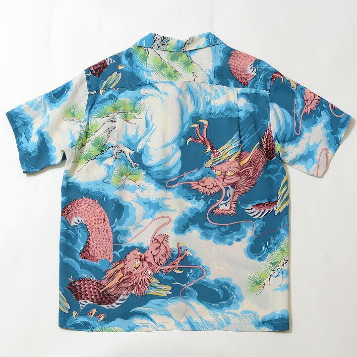 "No.SS38564 SUN SURF サンサーフS/S RAYON HAWAIIAN SHIRT""DRAGON""|junkyspecial|02"
