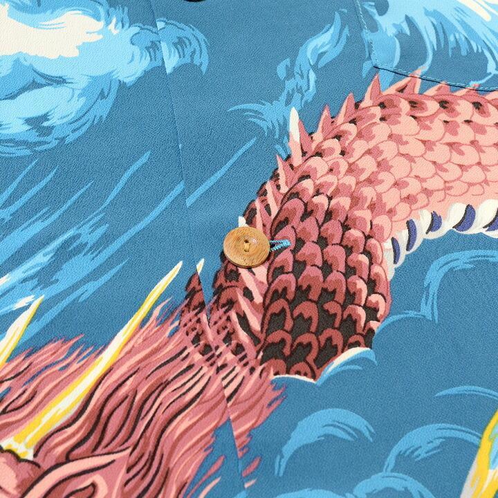 "No.SS38564 SUN SURF サンサーフS/S RAYON HAWAIIAN SHIRT""DRAGON""|junkyspecial|06"
