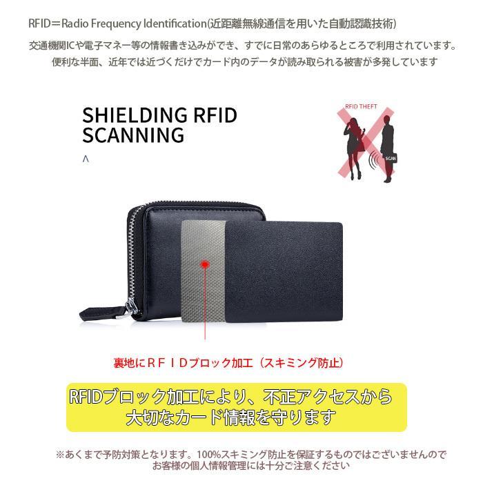 コインケース 小銭入れ 本革 レザー キャッシュレス RFID スキミング防止 ミニ コンパクト 財布 コインパース|juno-store|03