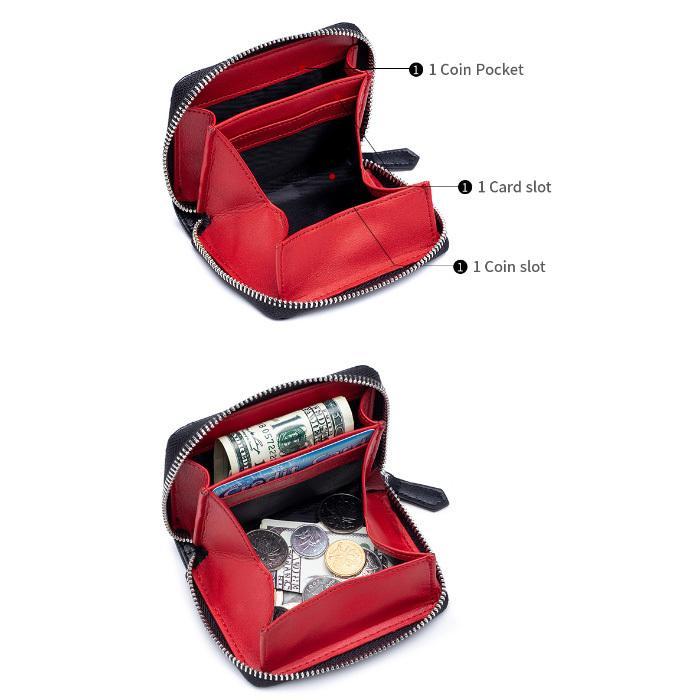 コインケース 小銭入れ 本革 レザー キャッシュレス RFID スキミング防止 ミニ コンパクト 財布 コインパース|juno-store|04