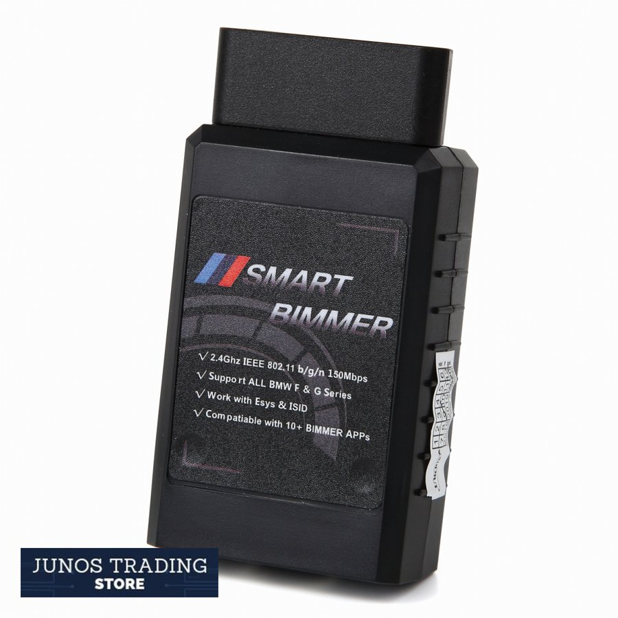 SmartBimmer ENET Wi-Fi アダプタ -BimmerCode、MHD Flasher、MG Flasher、xHP、THORなど多くのBMWチューニングアプリに対応|junostradingstore