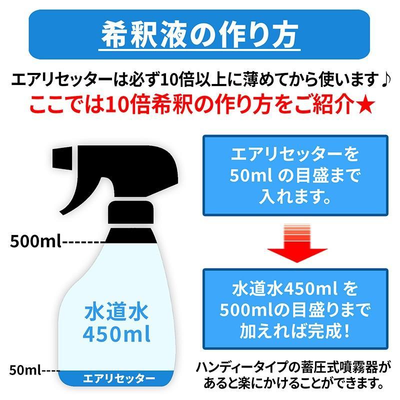 Air<Reseter(エアリセッター) エアコン洗浄剤 1000g 超強力 業務用 高濃度 油脂分解型アルカリ洗浄剤 AIG-R1000|junsendo|07