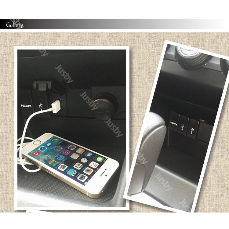 スバル専用 USB/HDMIパネルセット For LEVORG(レヴォーグ)/WRX S4/STI/IMPREZA(インプレッサ) SPORT/G4/XV/XV HYBRID SUBARU|jusby-auto|04