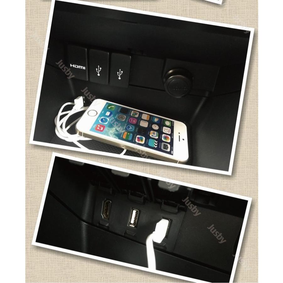 スバル専用 USB/HDMIパネルセット For LEVORG(レヴォーグ)/WRX S4/STI/IMPREZA(インプレッサ) SPORT/G4/XV/XV HYBRID SUBARU|jusby-auto|05
