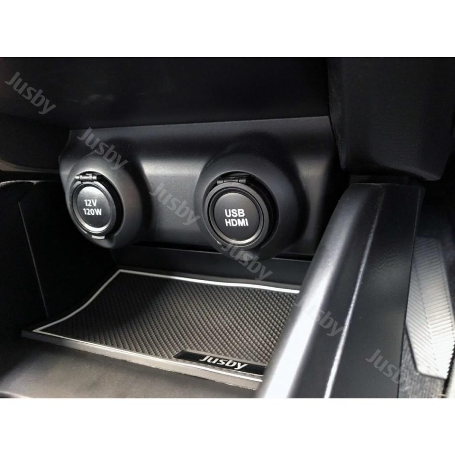 スズキ スイフト (スポーツ) 専用 HDMI&USBソケット カーナビとの接続に 純正ルックにUSB HDMI パーツ アクセサリー キット ( ZC33S ZC#3S系/ZD#3S系) jusby-auto 05