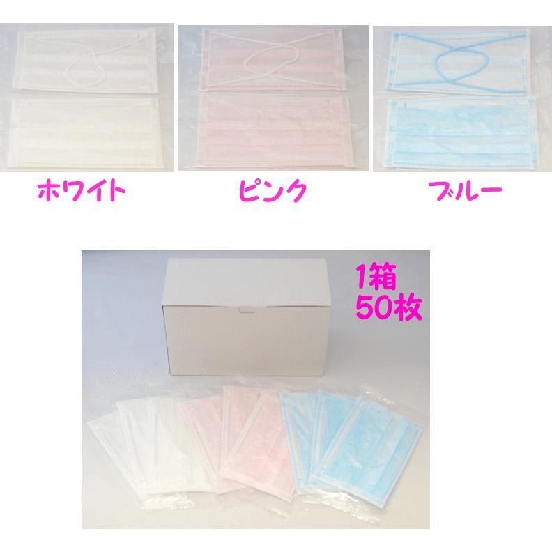 日本 不織布 製 カラー マスク