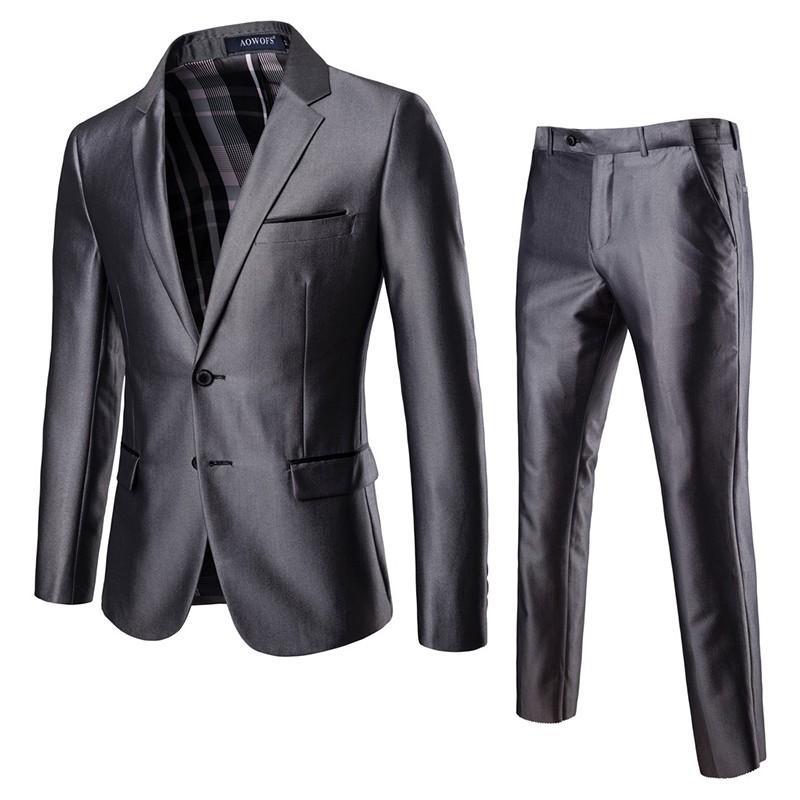 ダブルスーツ セットアップ メンズ 無地 レギュラー 紳士服 ビジネス スーツ フォーマル 披露宴 新作 カジュアル 大きいサイズ 5XLまで|justmode