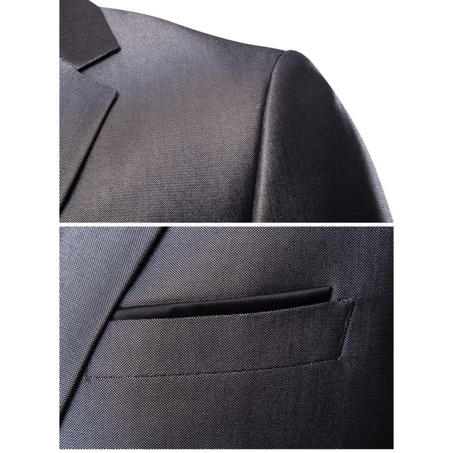 ダブルスーツ セットアップ メンズ 無地 レギュラー 紳士服 ビジネス スーツ フォーマル 披露宴 新作 カジュアル 大きいサイズ 5XLまで|justmode|05