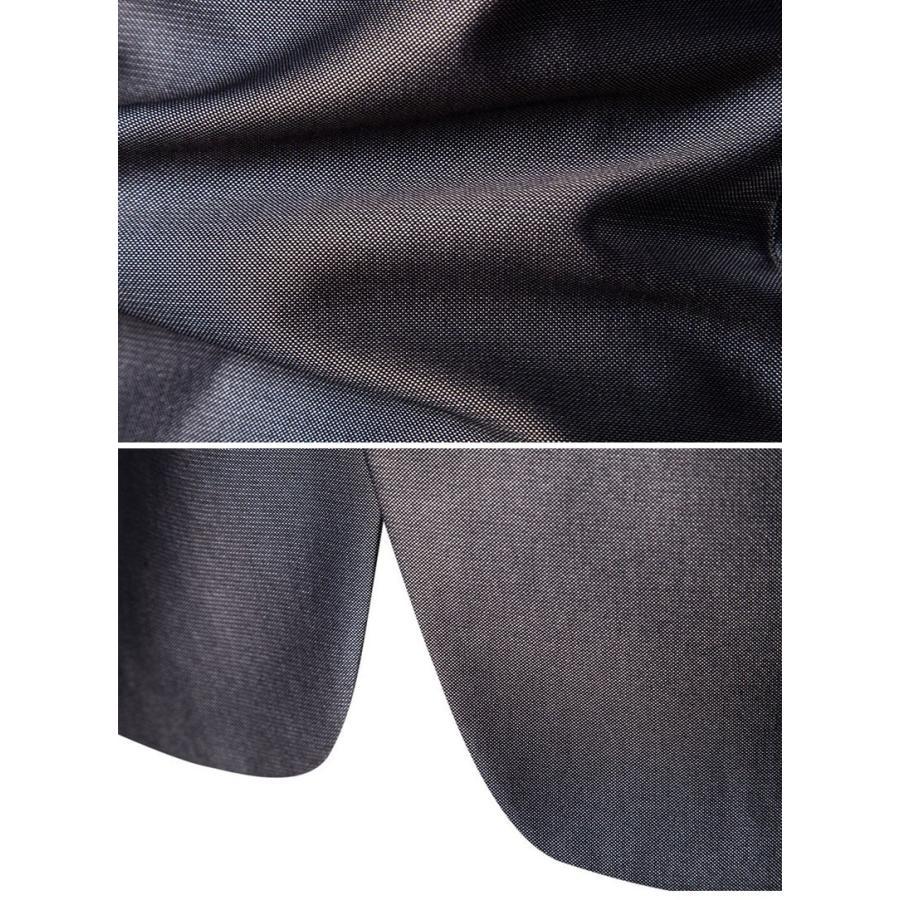ダブルスーツ セットアップ メンズ 無地 レギュラー 紳士服 ビジネス スーツ フォーマル 披露宴 新作 カジュアル 大きいサイズ 5XLまで|justmode|07