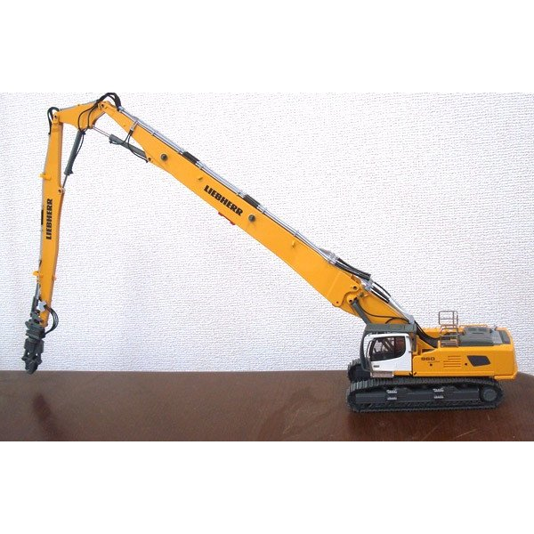 LIEBHERR リープヘル 重機 解体ショベル R960 Demolition crawler excavator juuki