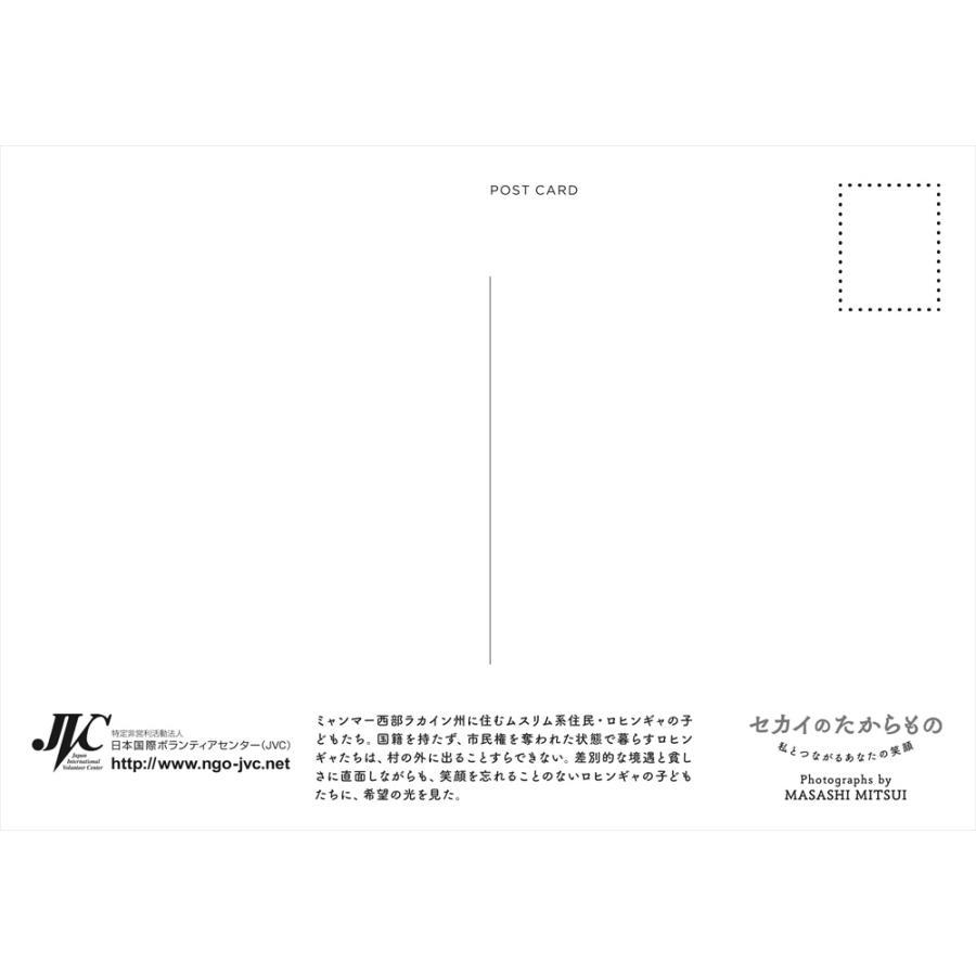 JVC国際協力ポストカード2022(Bタイプ) 7枚組 jvc 13