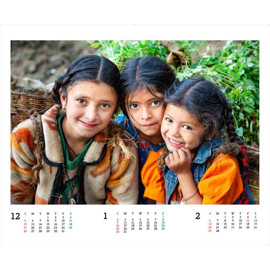 JVC国際協力カレンダー2022(卓上)※1〜50部のご注文はこちらから|jvc|02