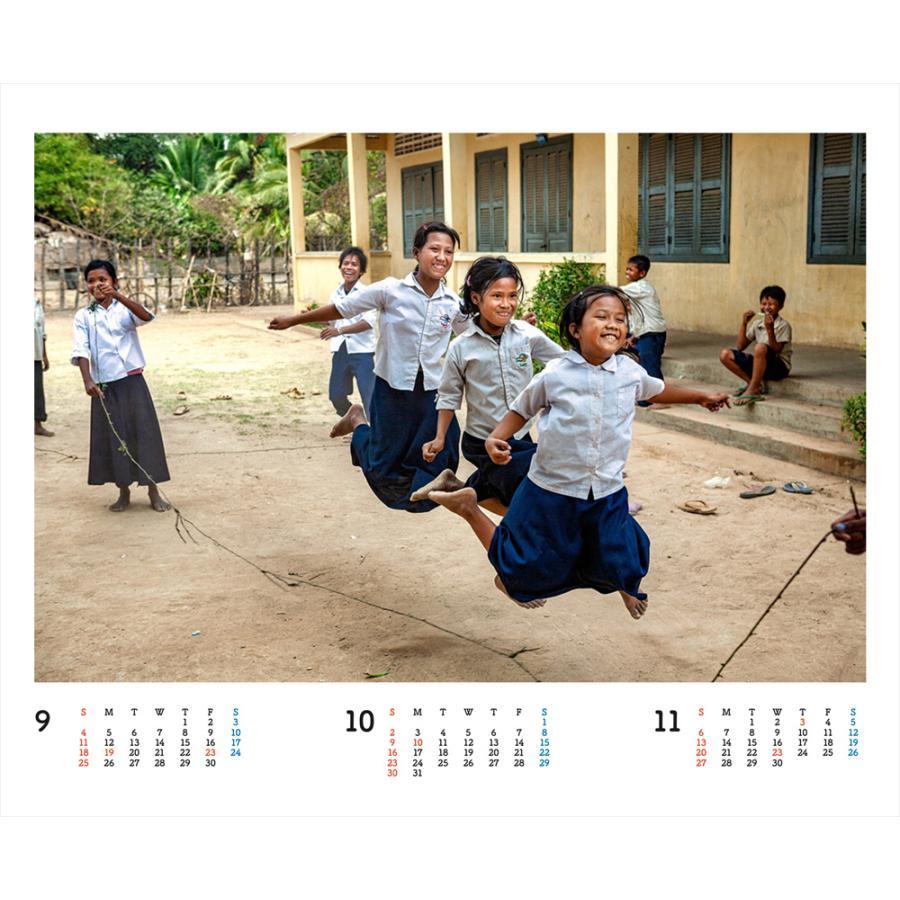 JVC国際協力カレンダー2022(卓上)※1〜50部のご注文はこちらから|jvc|11