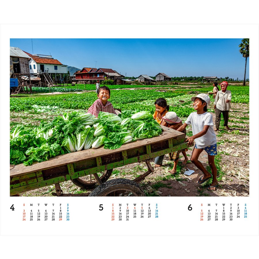 JVC国際協力カレンダー2022(卓上)※1〜50部のご注文はこちらから|jvc|06