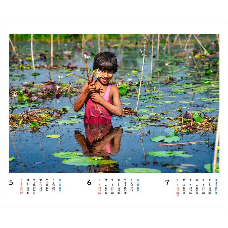 JVC国際協力カレンダー2022(卓上)※1〜50部のご注文はこちらから|jvc|07