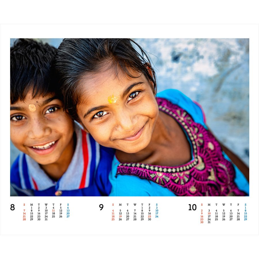 JVC国際協力カレンダー2022(卓上)※1〜50部のご注文はこちらから|jvc|10