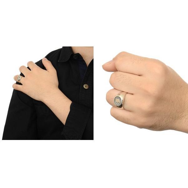 シルバー リング 指輪 彼氏 記念日 ギフトラッピング アクアシルバー 誕生日 送料無料 メンズ|jwell|03