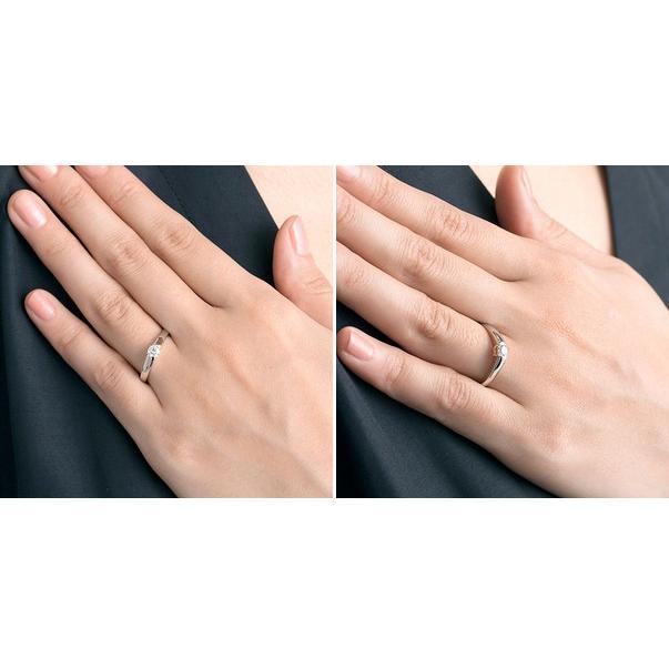 プラチナ リング 指輪 エンゲージリング 婚約指輪 ダイヤモンド 名入れ 刻印 彼女 誕生日プレゼント ディズニー レディース|jwell|03