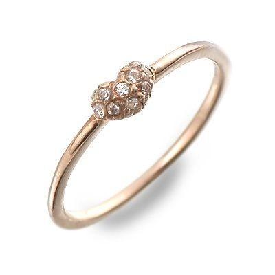 選ぶなら ピンクゴールド リング 指輪 ダイヤモンド 彼女 プレゼント メリトリオ 誕生日 送料無料 レディース, 港南区 3fff656a