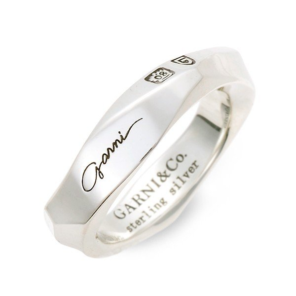 シルバーリング メンズ 925 シンプル ガルニ 指輪 ブランド おしゃれ かっこいい|jwell