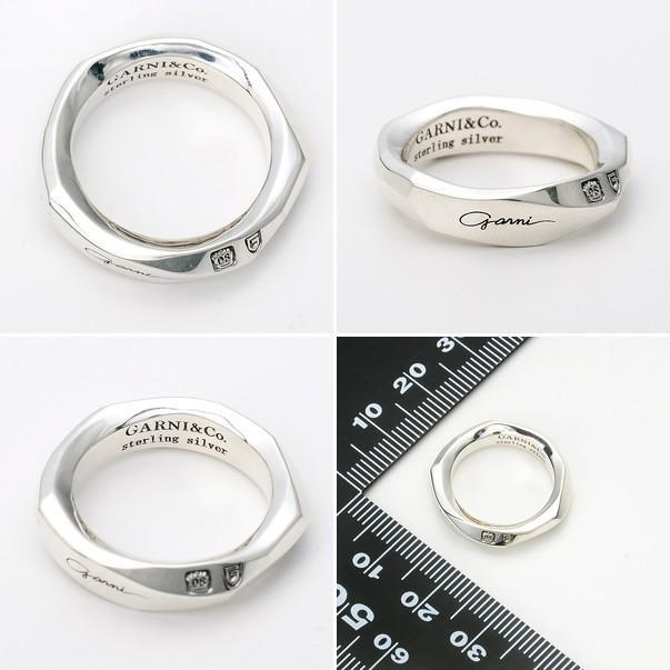 シルバーリング メンズ 925 シンプル ガルニ 指輪 ブランド おしゃれ かっこいい|jwell|02