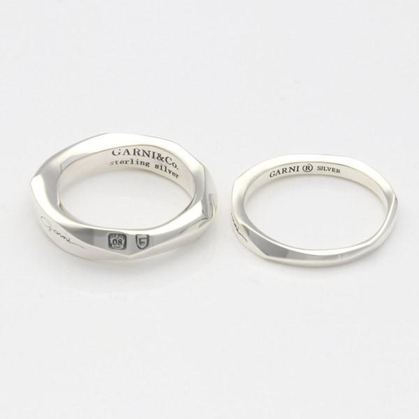 シルバーリング メンズ 925 シンプル ガルニ 指輪 ブランド おしゃれ かっこいい|jwell|04