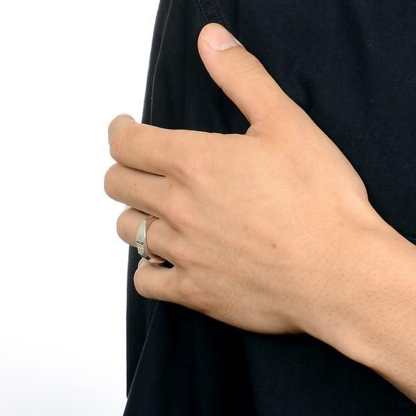 シルバーリング メンズ 925 シンプル ガルニ 指輪 ブランド おしゃれ かっこいい|jwell|06