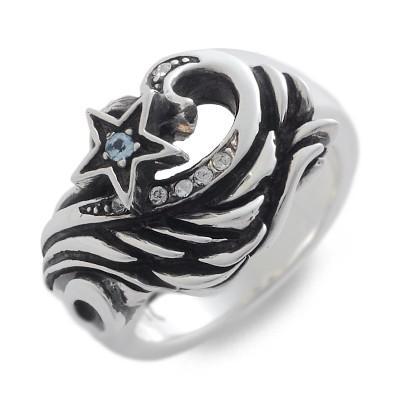 【超目玉】 シルバー リング 指輪 彼氏 記念日 ギフトラッピング ウルフマン 誕生日 送料無料 メンズ, fofoca 518451b7