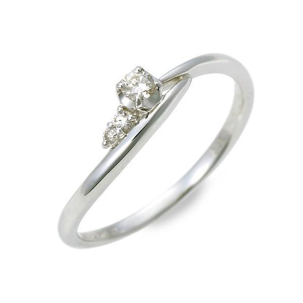 ホワイトゴールド リング 指輪 ダイヤモンド 彼女 プレゼント ウィスプ 誕生日 送料無料 レディース|jwell