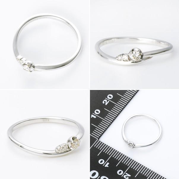 ホワイトゴールド リング 指輪 ダイヤモンド 彼女 プレゼント ウィスプ 誕生日 送料無料 レディース|jwell|02