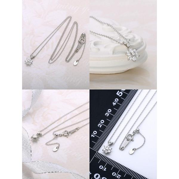 プラチナ ネックレス ダイヤモンド 彼女 誕生日プレゼント 記念日 ギフトラッピング レディース|jwell|02