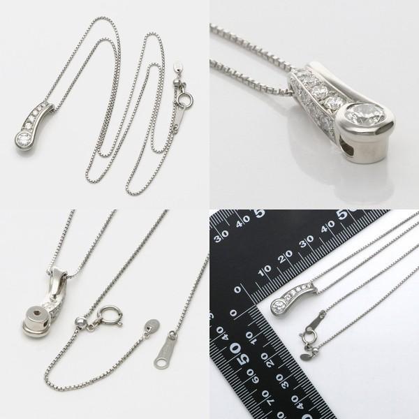 プラチナ ネックレス ダイヤモンド 彼女 誕生日プレゼント 記念日 ギフトラッピング スイートテンダイヤモンド|jwell|02