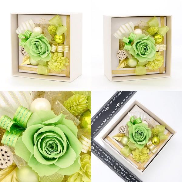 プリザーブドフラワー ボックス 花束 花材 アレンジメント 一輪 退職 お祝い 結婚|jwell|02