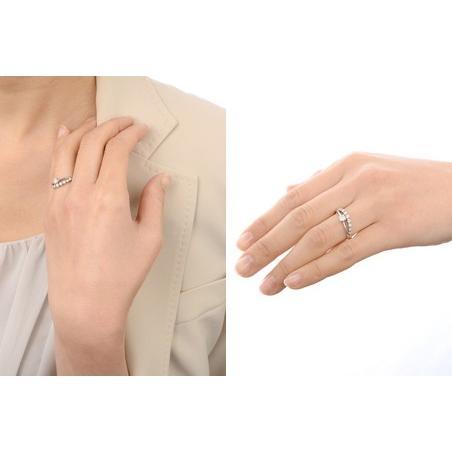プラチナ リング 指輪 ダイヤモンド 彼女 誕生日プレゼント 記念日 ギフトラッピング レディース|jwell|03