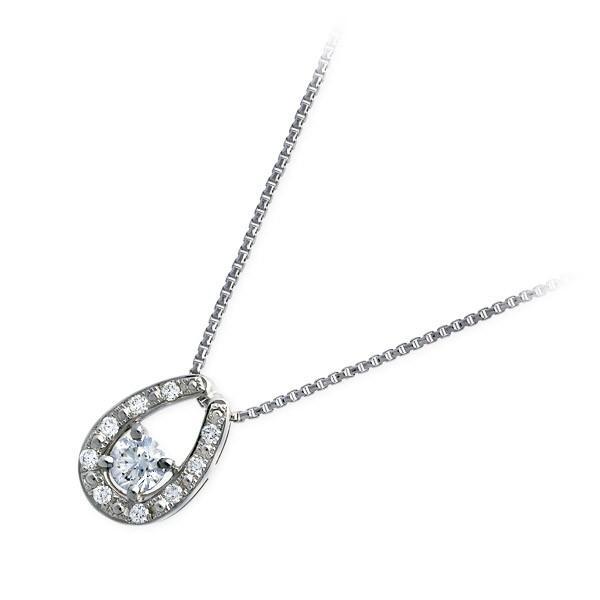 プラチナ ネックレス ダイヤモンド 彼女 誕生日プレゼント 記念日 ギフトラッピング|jwell