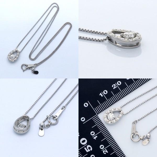 プラチナ ネックレス ダイヤモンド 彼女 誕生日プレゼント 記念日 ギフトラッピング|jwell|02