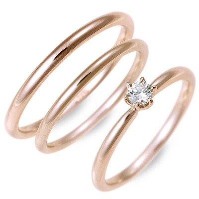 最安 ピンクゴールド ペアリング マリッジリング 結婚指輪 ダイヤモンド 名入れ 刻印 ペア 誕生日プレゼント ジェイオリジナル 送料無料, 井原市 ae7854ab