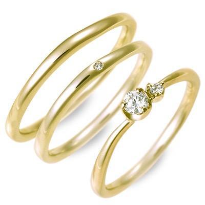【正規品】 ゴールド ダイヤモンド 結婚指輪 ペアリング マリッジリング 結婚指輪 ダイヤモンド 名入れ 刻印 ペア 誕生日プレゼント 刻印 ジェイオリジナル 送料無料, 正規品!:9cea2a8b --- airmodconsu.dominiotemporario.com