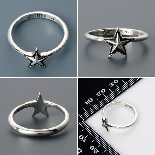 シルバー リング 指輪 彼氏 記念日 ギフトラッピング セインツ 誕生日 メンズ|jwell|02