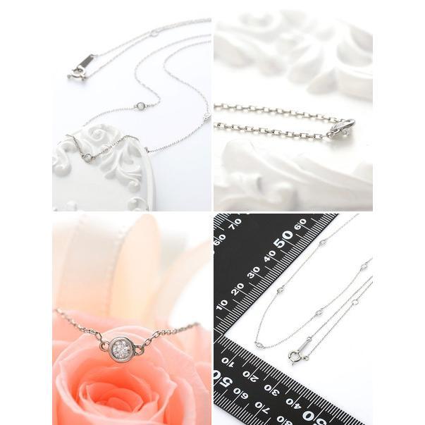 プラチナ ネックレス ダイヤモンド 彼女 記念日 ギフトラッピング タイムレスプラチナム 誕生日 送料無料 レディース jwell 02