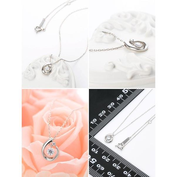 プラチナ ネックレス ダイヤモンド 彼女 誕生日プレゼント 記念日 ギフトラッピング タイムレスプラチナム 送料無料 レディース|jwell|02