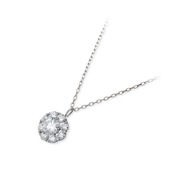 プラチナ ネックレス ダイヤモンド 彼女 誕生日プレゼント 記念日 ギフトラッピング タイムレスプラチナム 送料無料 レディース jwell
