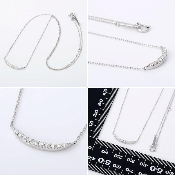 ホワイトゴールド ネックレス ダイヤモンド 彼女 プレゼント ウィスプ 誕生日 送料無料 レディース|jwell|02