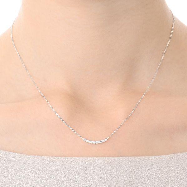ホワイトゴールド ネックレス ダイヤモンド 彼女 プレゼント ウィスプ 誕生日 送料無料 レディース|jwell|05